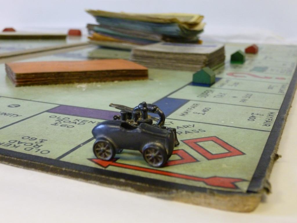 1930s Monopoly board
